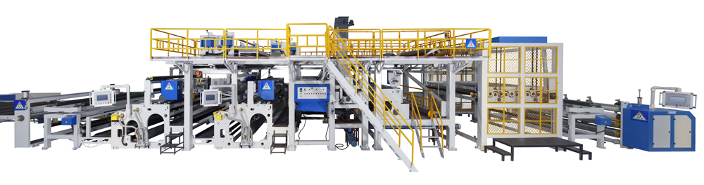 Non-asphalt base polymer self-adhesive waterproof coil production line